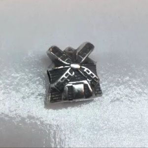 Zable 925 Sterling Silver Windmill bead charm